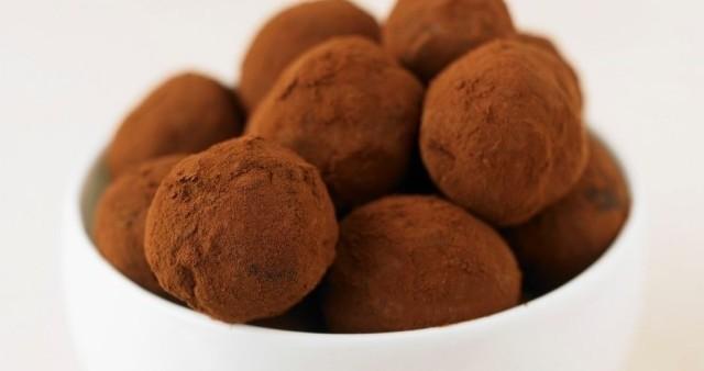Coconut-Walnut Chocolate Truffles