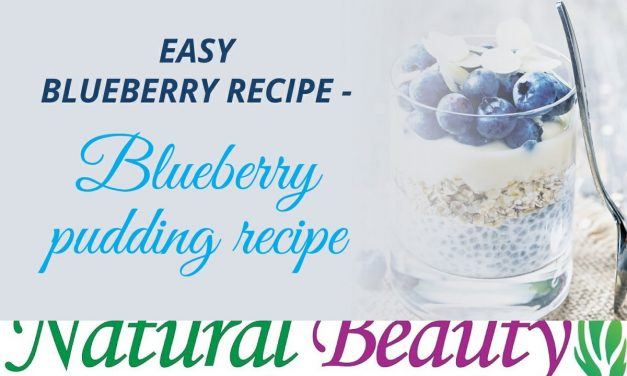 Healthy Blueberry Pudding